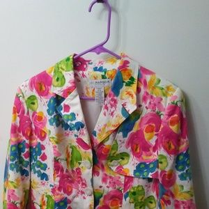 Beautiful Sag Harbor Size 8 NWOT Spring Blazer